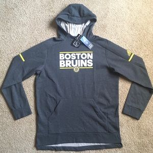 Adidas Boston Bruins Squad NHL Hockey Hoody XLarge